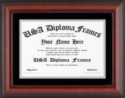standard frames usa diploma frames