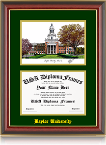 enter the name of your school to get started building your custom frame